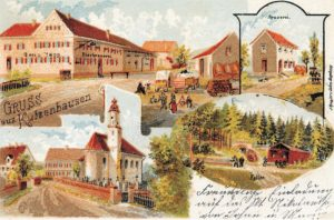 Älteste bekannte Postkarte aus Kutzenhausen
